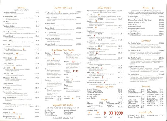 Mela Spice Fusion : Full Menu | Restaurant & Takeaway