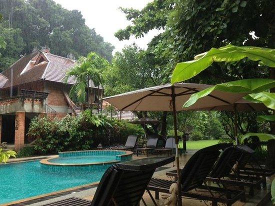 Yaang Come Village: vue du restaurant