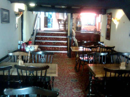The Black Cock Inn: dining room
