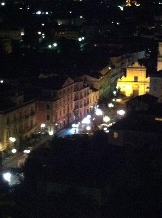 Cristina Hotel: street view from balcony