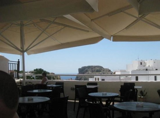 Melia Cafe: Rooftop View
