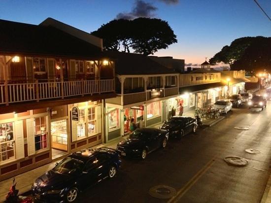 Moose McGillycuddy's - Maui : Vue sur la rue