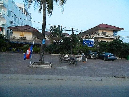 Beach Club Resort: вид с улицы