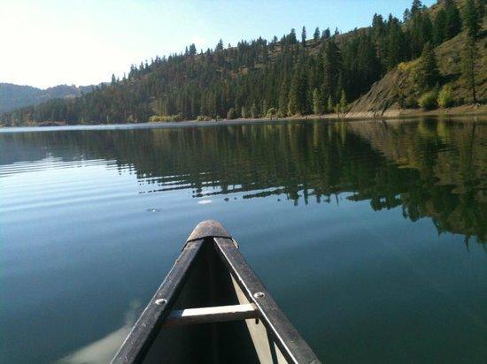 Sun Mountain Lodge: Boating on Lake patterson