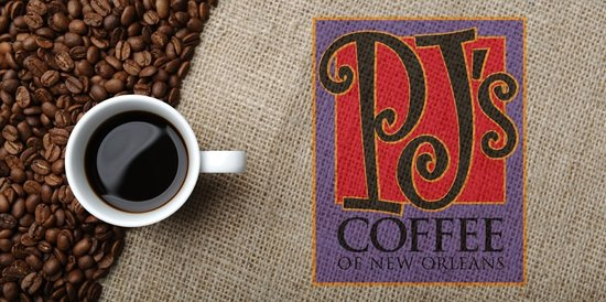 Gumbeaux's Oyster & Sports Bar: PJ's coffee of New Orleans, right here at Coushatta!