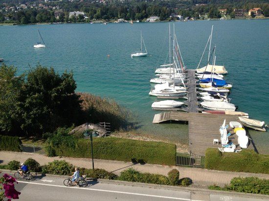 Tennis & Yacht Hotel Velden: vista lago dalla camera