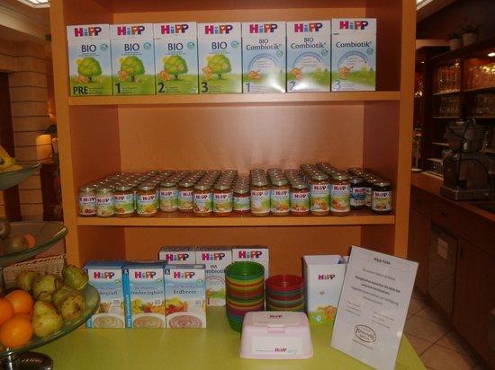 Kinderhotel Buchau: Babybuffet