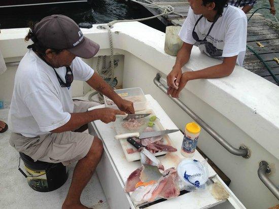 Charter Fishing Cancun: Filets