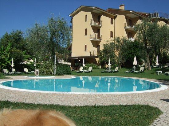Hotel Benacus Malcesine: Hotelpool