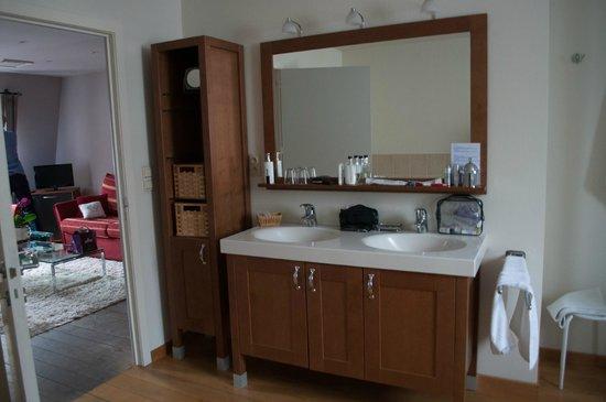 Villa des Raisins: bathroom
