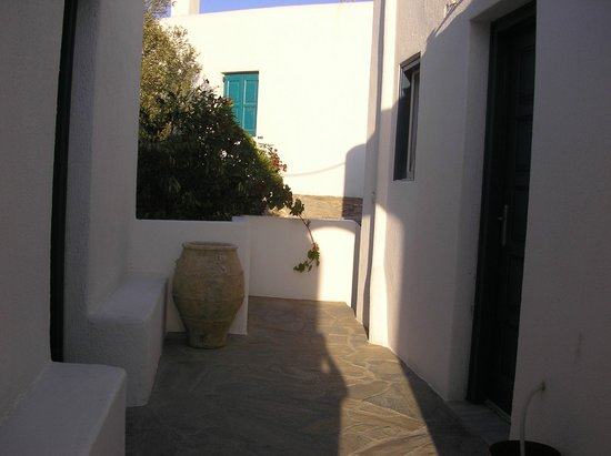 Aegean Hotel: Stairway to the Rooms