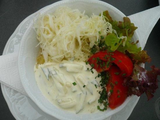 Die Gartnerei : Gemischter saisonaler Salat