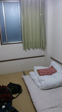 Hotel Toyo: My single room