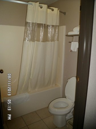 Super 8 Green Bay I-43 Bus. Park: Bathroom