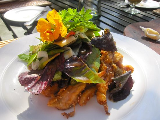Spier Hotel: delicious food and wine