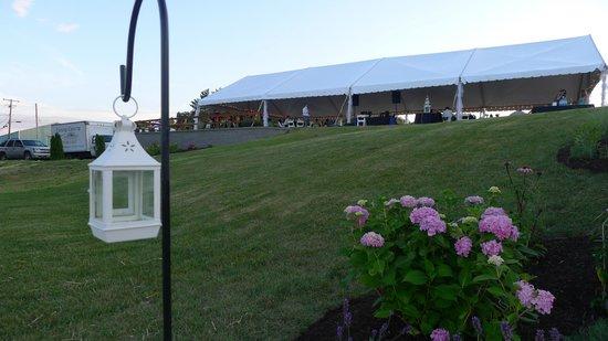 Starkey's Lookout: Wedding Venue Outside
