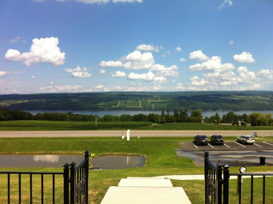 Starkey's Lookout : Front Patio View