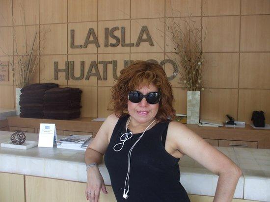 La Isla Huatulco & Beach Club: Llegando al Hotel