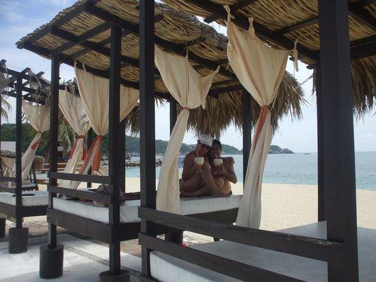 La Isla Huatulco & Beach Club: latitud 15°