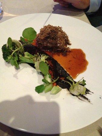 Alberto K: Beef, broccoli, smoked marrow & summer truffle