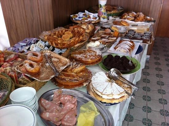 Hotel Europa: buffet colazione