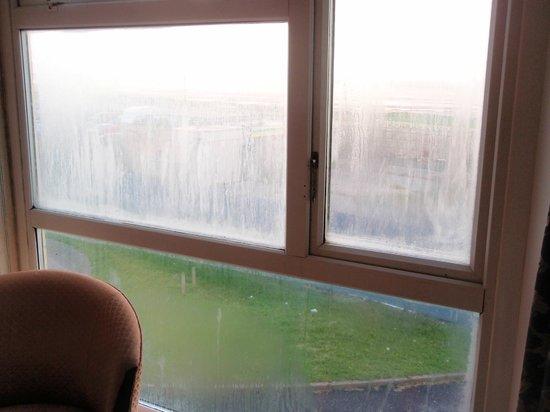 Norbreck Castle Hotel: blown window panels