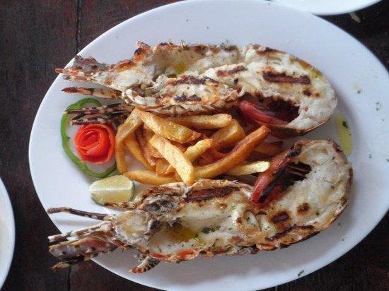 Mediterraneo Hotel & Restaurant : seafood