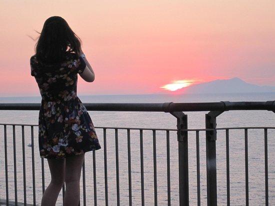 La Terrazza: September sun set