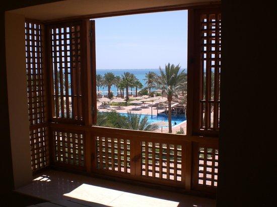Movenpick Resort Soma Bay: Vu du balcon de la chambre