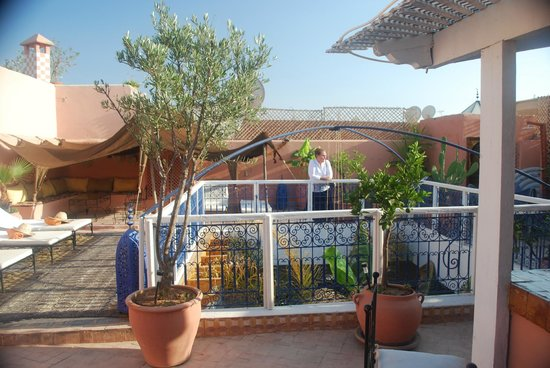 Riad Abaca Badra: The rooftop terrace