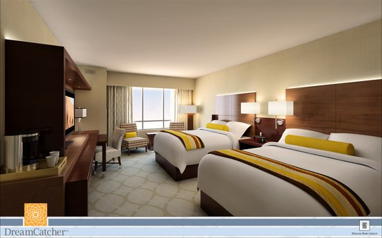 Seven Clans Hotel: 401 ultra modern rooms.