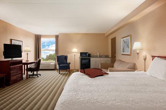 Hampton Inn Waterville: One Room Studio Suite