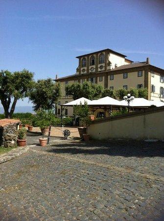 Grand Hotel Villa Tuscolana: panorama della Villa