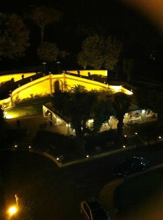 Grand Hotel Villa Tuscolana: panorama dalla camera