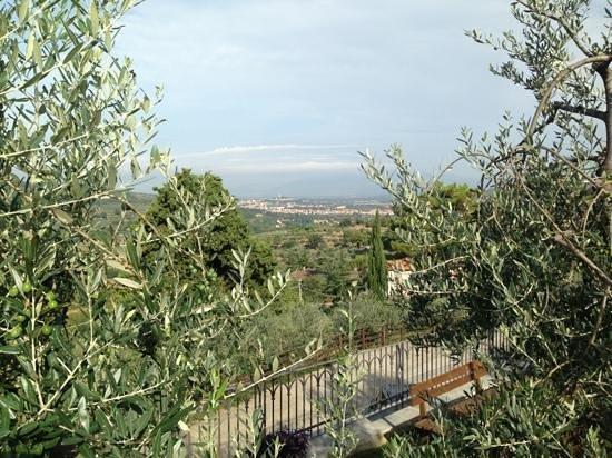 La Locanda Di Giulia: vista di Arezzo