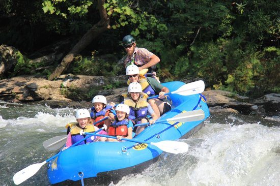 Wildwater Rafting - Chattooga : Chatooga trip