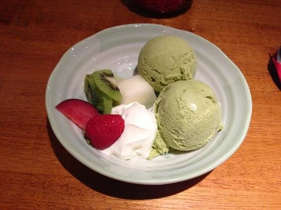 Yukisan : green tea ice cream