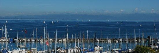 Hotel Halm Konstanz: Our view