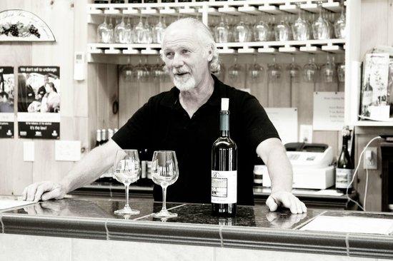 Beliveau Estate: the wine tasting and Ivan