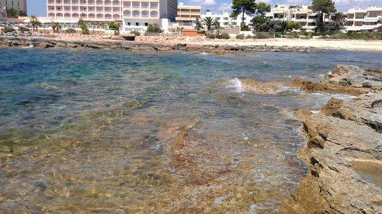 Hotel Restaurant Sa Placa: Cala zona Formentor II