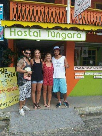 Calipso Hostel: Cesar, Sol, Malan & Rawry