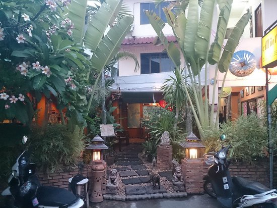 All in 1 Guesthouse: Vue de la grande terrasse