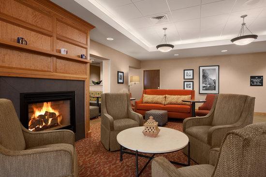 Hampton Inn Waterville : Lobby