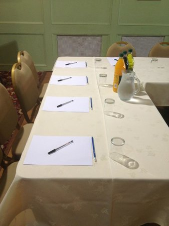 Park Head Country Hotel and Restaurant: Conferencing