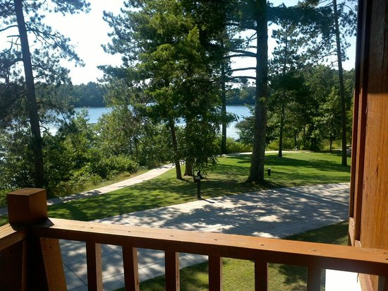 Heartwood Conference Center & Retreat: View from room in Eagle Lodge