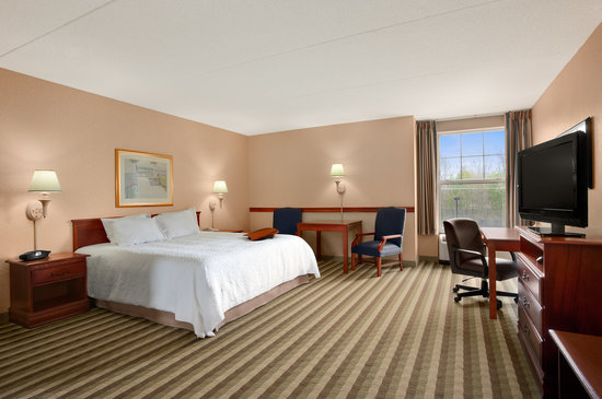 Hampton Inn Waterville: 1 Room Studio Suite with King Bed Nonsmoking no couch