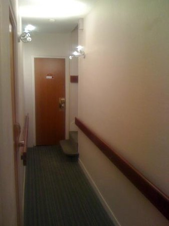 Le Bellevue : couloir