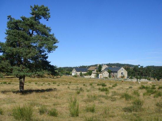 La Grange d'Emilie : Grange d' Emilie dans le paysage de Margeride