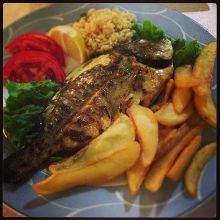 Pallini: Grilled fish