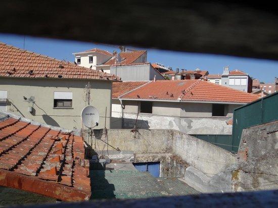 Hospedaria Monte Sinai: View through the window